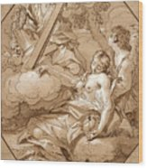The Ecstasy Of St Mary Magdalene Wood Print