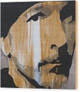 The Edge Wood Print