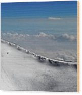 The Edge Of The Sky Wood Print
