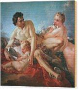 The Education Of Cupid Wood Print