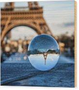 The Eiffeltower Wood Print