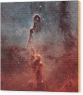 The Elephant Trunk Nebula Wood Print by Rolf Geissinger