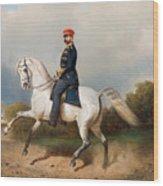 The Emperor Alexander Wood Print