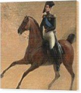 The Emperor Nikolai I Of Russia Wood Print