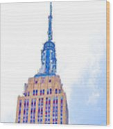 The Empire State Building 1 Wood Print