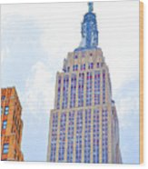 The Empire State Building 2 Wood Print