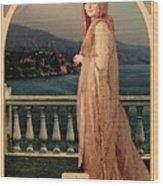 The Empress Wood Print by John Edwards