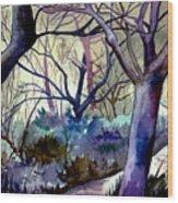 The Enchanted Path Wood Print