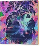 The Enchanted Wood Wood Print