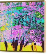 The Energy Field Of The Human Psyche Wood Print