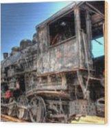 The Engine #3 Wood Print