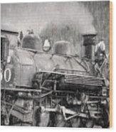 The Engineers Mistress Wood Print