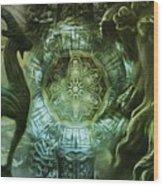 The Enigma Of Capricorn  Wood Print