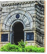 The Entrance To The Castle On Little Round Top Wood Print