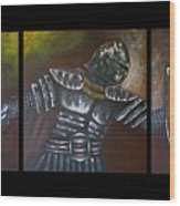 The Ephesian, Armor Of God Wood Print