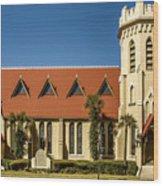 The Episcopal Church Of Fernandina Beach Wood Print
