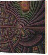 The Eschereschaton Wood Print