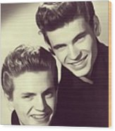 The Everly Brothers Wood Print