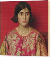 The Exile - Heavy Is The Price I Paid For Love Wood Print by Thomas Cooper Gotch