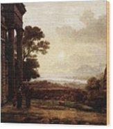 The Expulsion Of Hagar  Wood Print