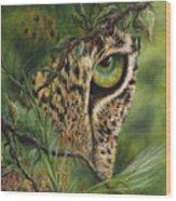 The Eye Wood Print