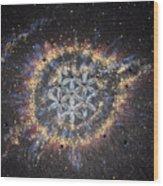 The Eye Of God - Helix Nebula Wood Print