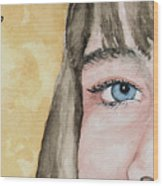 The Eyes Have It - Bryanna Wood Print