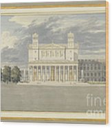The Fa?ade And Suroundings Of A Cathedral For Berlin Wood Print