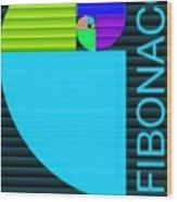 The Fibonacci Equation Catus 1 No. 2 V B Wood Print