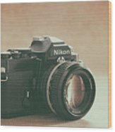 The Fabulous Nikon Wood Print