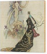 The Fairy Book Wood Print