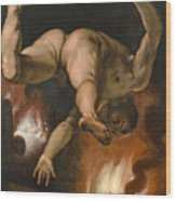 The Fall Of Ixion Wood Print