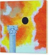 The Fall Of Rome Wood Print