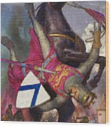The Fall Of William The Conqueror Wood Print