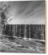 The Falls At Yates Mill II Wood Print