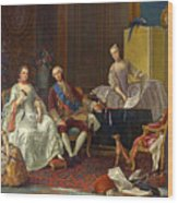 The Family Of Philip Of Parma  Wood Print