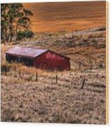 The Farm Wood Print by David Patterson