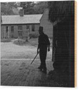 The Farmer Wood Print