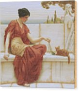 The Favorite Wood Print by John William Godward
