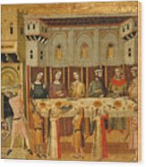 The Feast Of Herod And The Beheading Of The Baptist Wood Print