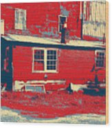 The Feed Store Wood Print