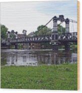 The Ferry Bridge Wood Print