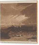 The Fifth Plague Of Egypt Wood Print