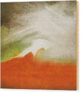 The Fire Mountain - Cotapaxi Wood Print