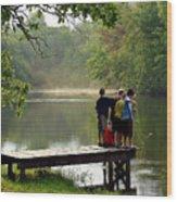The Fisherboys Wood Print