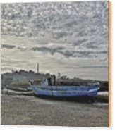 The Fixer-upper, Brancaster Staithe Wood Print