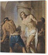 The Flagellation Of Christ Wood Print