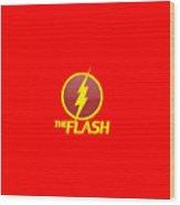 The Flash Logo Wood Print