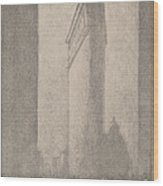 The Flat Iron New York Wood Print