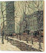 The Flatiron Building 2 Wood Print